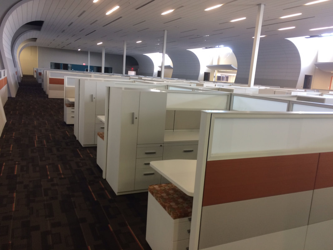 cubicle lighting. Cubicle Floor Plan - Interior Design Office Lighting Computer Networks Phone Systems Delivery \u0026 Install Temporary Long Term Storage A